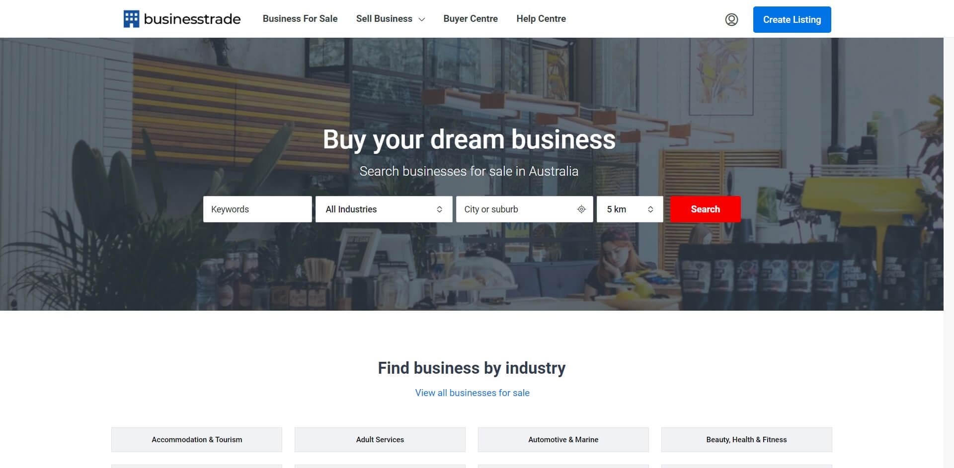 Business Trades Website
