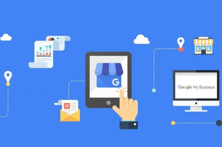 Website on Google My Business